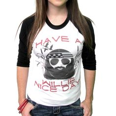 haha! I so want this! Love me a little Willie Nelson!