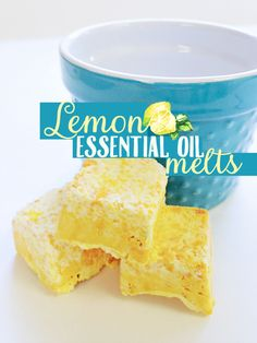 Use these lemon essential oil shower melts for a fresh burst of citrus in your morning shower! This easy DIY is the perfect bathroom addition!
