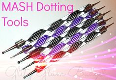 MASH 5 x 2 Nail Art Dotting Tools