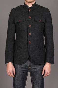 MENK Classic Black Sportcoat Jack Threads d451414bbf6be
