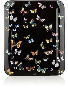 Fornasetti Farfalle Tray - Trays - 504117533