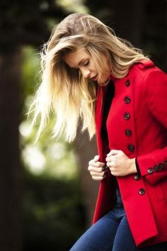 The Libertine Jacket by Egality Freedom is a beautifully tailored hip length jacket in a vibrant red wool.  A real statement jacket for the season ahead.