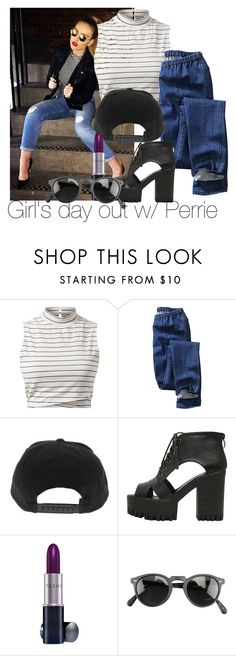 """Girl's day w/ Pez (PLEASE READ DIS)"" by edna-loves-1d ❤ liked on Polyvore featuring H&M, Fashion Fair and Oliver Peoples"