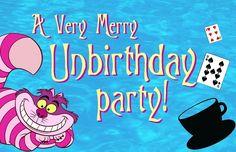 Alice in Wonderland Birthday Party Invitation Party invitations