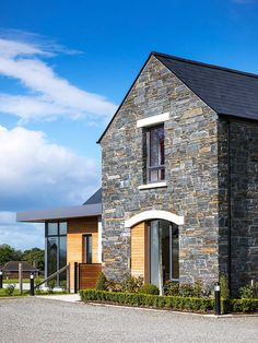 New Build In County Armagh House Layout Plans, House Layouts, House Plans, Bungalow House Design, Modern Bungalow, Warren House, House Designs Ireland, Modern Barn House, Home Stairs Design