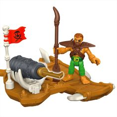 Imaginext® Captain Kid & Surf Board - Shop Imaginext Kids' Toys | Fisher-Price