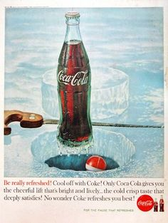 Refreshing Coca-Cola