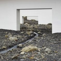 """Olafur Eliasson fills modern art museum  with """"giant landscape"""" of rocks"""