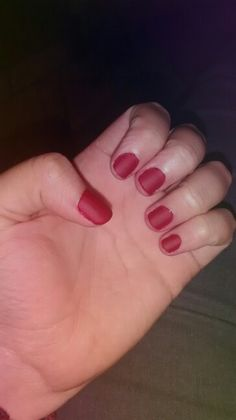 Red Mate #Nails