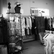 Rags and Lace  Jan Smuts.  Not so vintage.  More like slightly used designer wear. Next door to Patou.