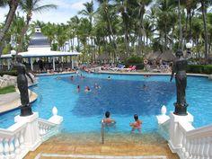 Good article on how to book cheap carribean vacation.  Riu Bambu has an in-room dispenser.