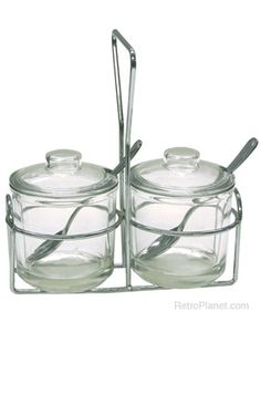 5 oz Condiment Jar Set