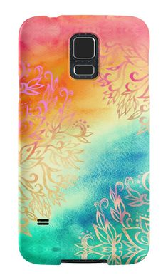 """""""Watercolor Wonderland"""" Samsung Galaxy Cases & Skins by micklyn 