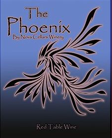 The Phoenix!  A Novocellars special concoction of varies blends to produce a very sweet fruity wine.