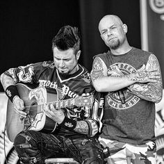 Jason Hook and Ivan Moody