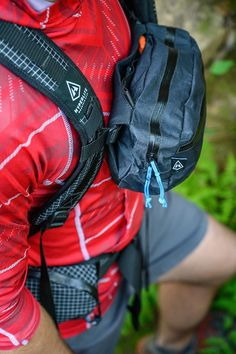 "Having accessible ""pockets"" on your pack is useful for keeping little bits of gear handy without taking off your pack. But consider a multi-use pouch that can also be worn as a standalone fanny-style pack. Ultralight Backpacking, Backpacking Light, Backpacking Food, Hiking Gear, Camp Gear, Hiking Tips, Utility Pouch, Daisy Chain, Outdoor Gear"