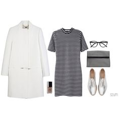 218 by szum on Polyvore featuring moda, T By Alexander Wang, STELLA McCARTNEY, Zara, Selima Optique, Dries Van Noten and Chanel