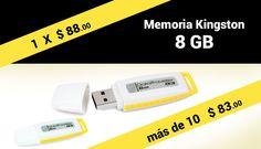 Que estas esperando, aprovecha estas promociones en Memorias USB.