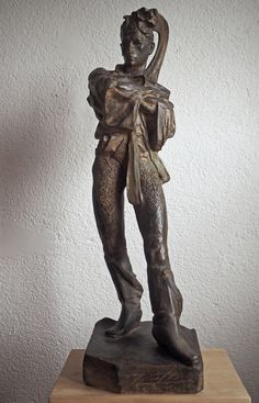 František Úprka: Lanžhotský stárek (Stripling from Lanžhot), 1905