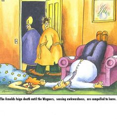 Gary Larson is the best.