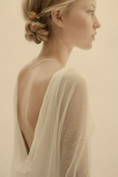 Beautiful bride - understated, elegant simplicity