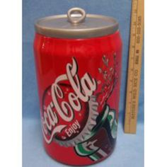 2002 Coca-Cola Cookie Jar - Starting Bid: $20.00 (Outbid)