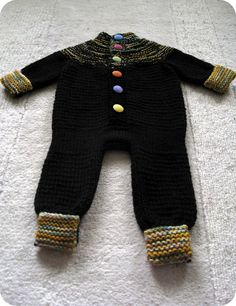Zzz jumpsuit by Anna and Heidi Pickles