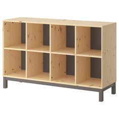 IKEA - NORNÄS, Meuble bas,  , , Le pin massif non traité est un matériau naturel et durable qui peut être peint, huilé ou laqué à votre guise.