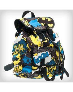DC Comics Batman superhero Logo Slouch Backpack - Dark Knight marvel bookbag - Visit to grab an amazing super hero shirt now on sale! Batman Bag, Batman Girl, Batman Love, Batman Stuff, Batman Superhero, Mini Backpack, Backpack Bags, Dc Comics Girls, Batman Outfits
