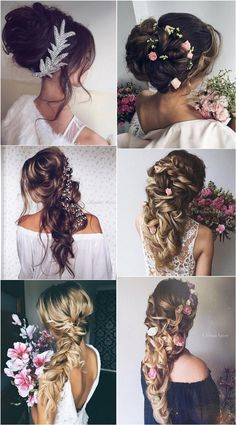 Ulyana Aster Wedding Updos and Long Wedding Hairstyles /  / http://www.deerpearlflowers.com/wedding-updo-hairstyles-for-long-hair-from-ulyana-aster/