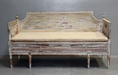 The Swedish Gustavian Settee | Maison & Co.