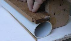 Make an Oval PVC Mould  Using a Heat Gun
