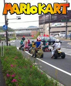 Versión realista de Mario Kart