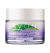 Avon+Elements+Youth+Restoring+Anti-Wrinkle+Moisture+Cream+Broad+Spectrum+SPF+20 Infused with nutrient-rich Amethyst Mineral Complex. Helps skin look younger and healthier as fine lines appear to fade. Suitable for sensitive skin. Hypoallergenic. Fine lines appear faded…skin looks healthier. 1.7 fl. oz. www.youravon.com/nickellewhitfield $11.99