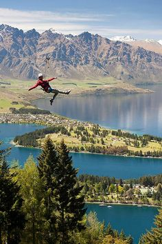 Skyline - Gondola & Luge, Queenstown, New Zealand. Such a fun experience and a great opportunity to enjoy the breathtaking views!