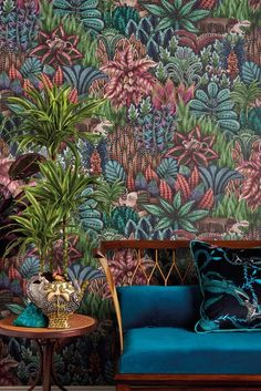 Cole   Son The Ardmore Collection - Singita Wallpaper - 2 Colours Available 7521373a5f