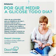 #Diabetes Estudos indicam que o autocontrole pode reduzir danos aos órgãos e a morte de pacientes diabéticos. Raquel Limonge comenta no blog Educação em Diabetes: http://www.educacaoemdiabetes.com.br/2013/06/19/por-que-medir-a-glicose-todo-dia