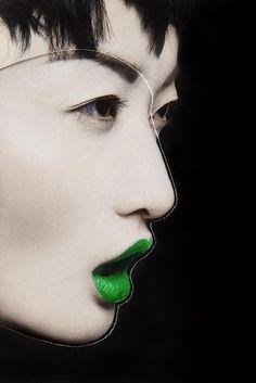 Exercice de Style Makeup Art, Face Makeup, Face Veil, Vogue Editorial, Color Games, Super Greens, Beautiful Mask, World Of Color, Face Art