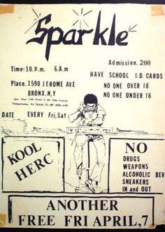 Exclusive Kool Herc Sparkle session
