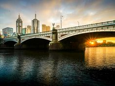 Princes Bridge, Melbourne, Victoria, Australia, May Dawn. Preliminary Edit in LR for IOS (on iPhone). Will look better when processed on desk top - I promise! Melbourne Victoria, Victoria Australia, I Promise, Dawn, Ios, Bridge, Iphone, Legs