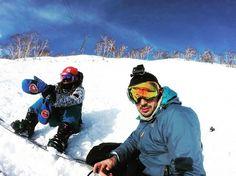 #bestof2016 // Blue skies,  clear hearts 💕 🙌🏼🏂⛷ (so many GoPros!) . . . #snowboarding #christmas #powderlife #instadaily #dragon #burton #snow #winter #sports #goretex #niseko #japan #travel #fisheye #photography #blackrun #superstition