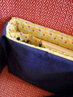 Laptop Messenger Bag Pattern by wilsons on Etsy, $7.00