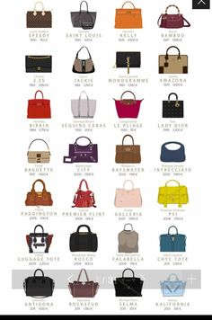 Icons bags