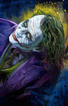 The Joker by Grimbro