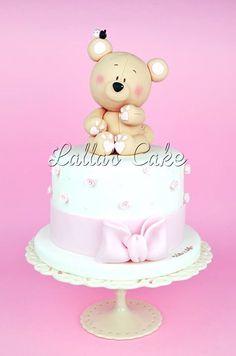 cute Teddy Girl Cake