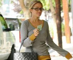 Lauren Conrad     Celebrities wearing Glasses #glasses