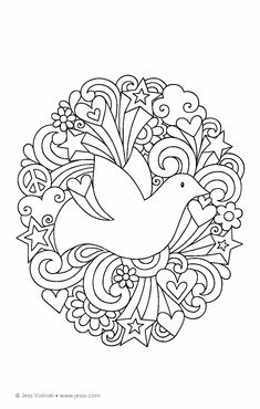 Color Animals Coloring Book: Perfectly Portable Pages (On-the-Go! Coloring Book) (Design Originals) Extra-Thick High-Quality Perforated Pages in Convenient Size Easy to Take Along Everywhere Cute Coloring Pages, Mandala Coloring Pages, Adult Coloring Pages, Coloring Sheets, Coloring Books, Notebook Doodles, Coloring Pages Inspirational, Art Nouveau Design, Bible Crafts