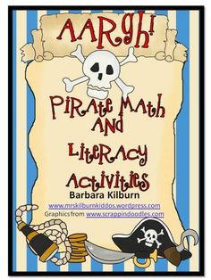 Pirate math and literacy packet posted on TpT