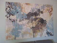 LARGE CONTEMPORARY WALL PRINT Visit www.sellmystuffcanada.com for more great photos of eclectic estate sale items!