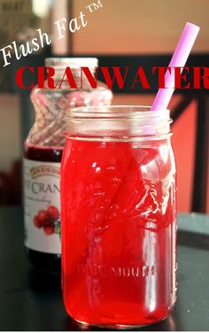 Diluting 100% cran with water is kind of a go-to for me, straight cran juice is a little too bitter for me. Flush Fat™ Cranwater